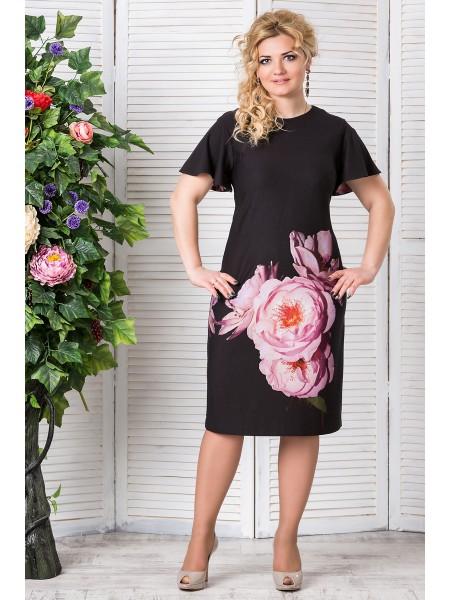 Платье Ева (розовый)