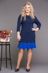 Платье Коко (синий)