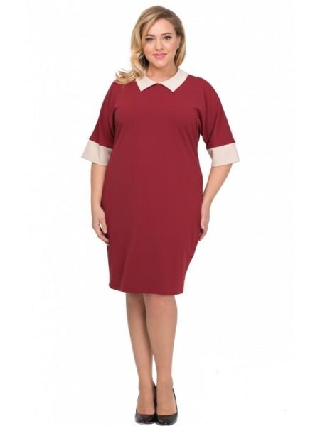 Платье Аврора (бордо)