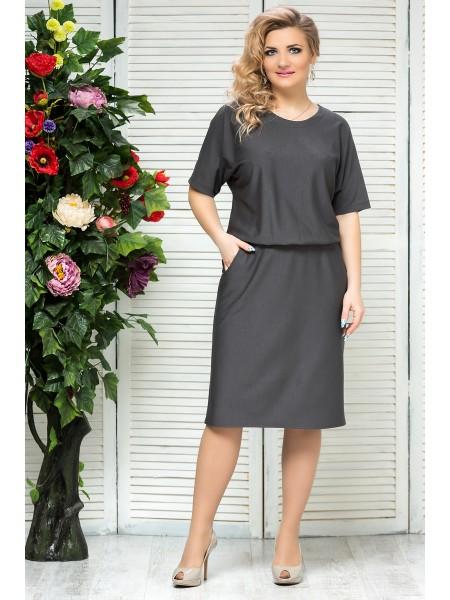 Платье Бэлла (серый)