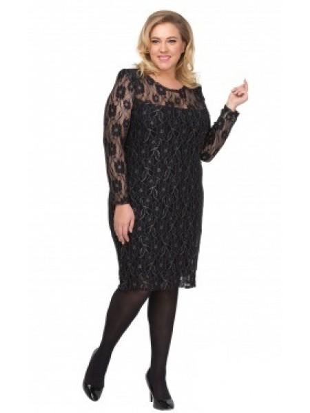 Платье Блеск (черный)