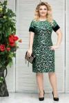 Платье Бренда (зеленый)