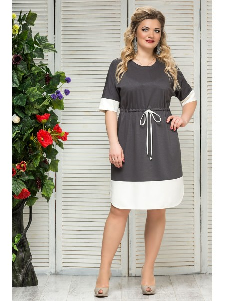 Платье Диор (серый)