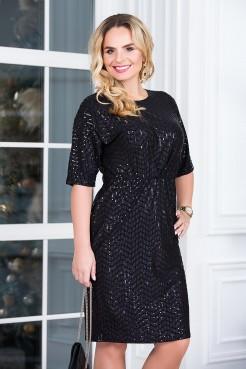 Платье Диско (черный)