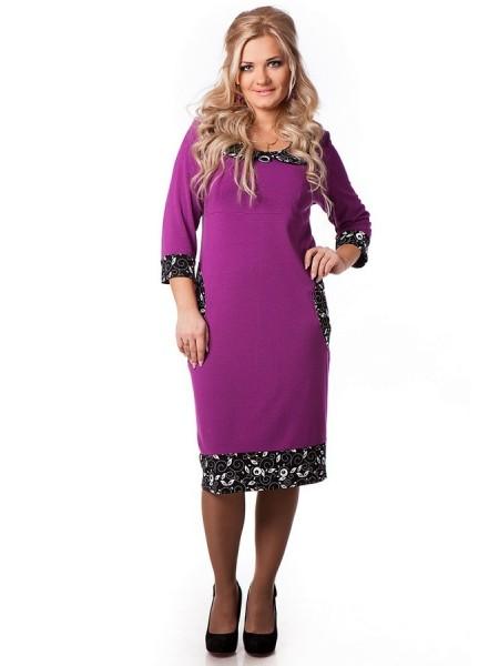 Платье Дольче Вита (сирень)