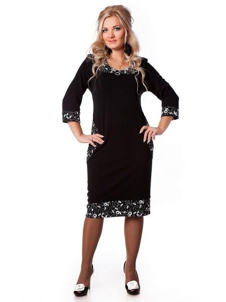 Платье Дольче Вита (черный)