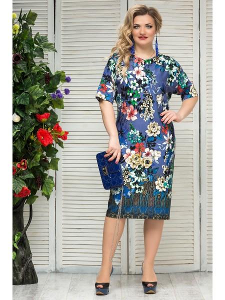 Платье Франческа (сапфир)