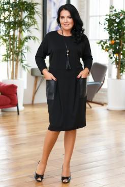 Платье Голди (черный)