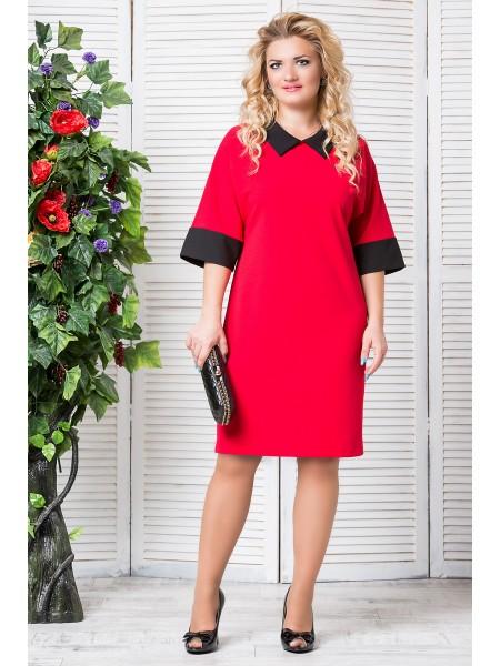 Платье Ирина (красный)
