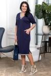 Платье Италика (синий)