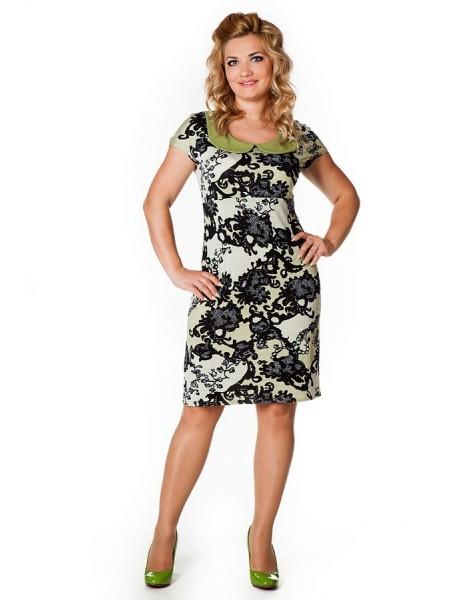 Платье Коктейльное (фисташка)
