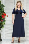 Платье Корона (синий)