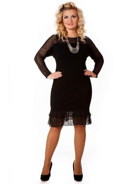 Платье Ласточка (черный)