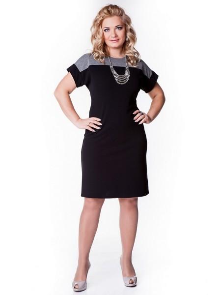 Платье Лаура (черный)