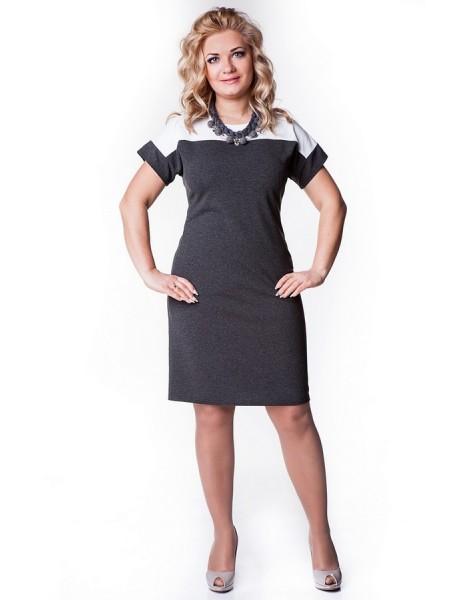 Платье Лаура (серый темный)