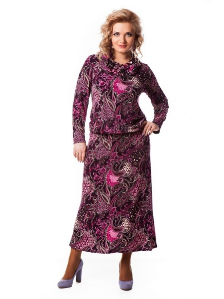 Платье Лейла (розовый)