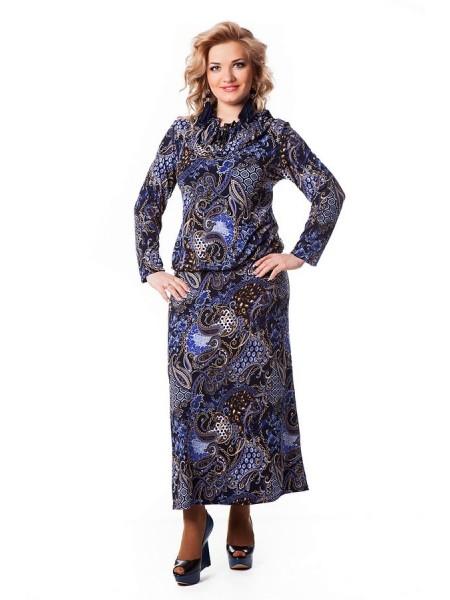 Платье Лейла (синий)