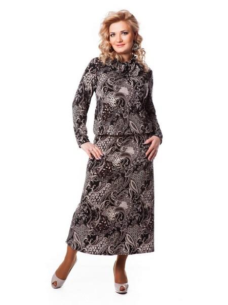 Платье Лейла (серый)