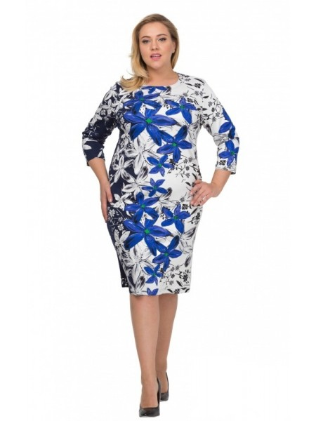 Платье Лола (голубой)