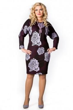 Платье Лолита (розы фиолет)