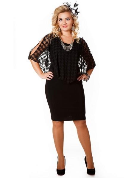 Платье Марго (черный)