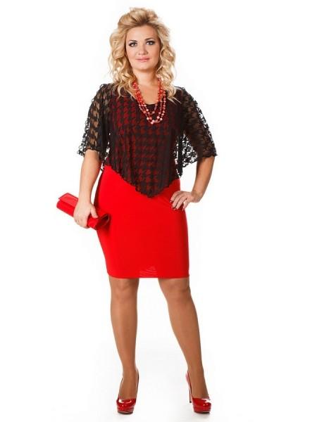 Платье Марго (красный)