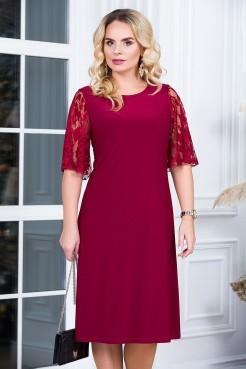 Платье Милена (бордо)
