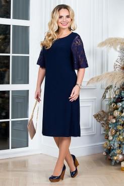 Платье Милена (синий)