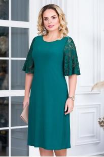 Платье Милена (зеленый)