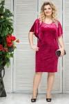 Платье Модница (бордо)