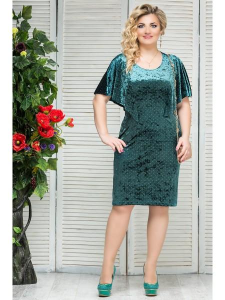 Платье Модница (зеленый)