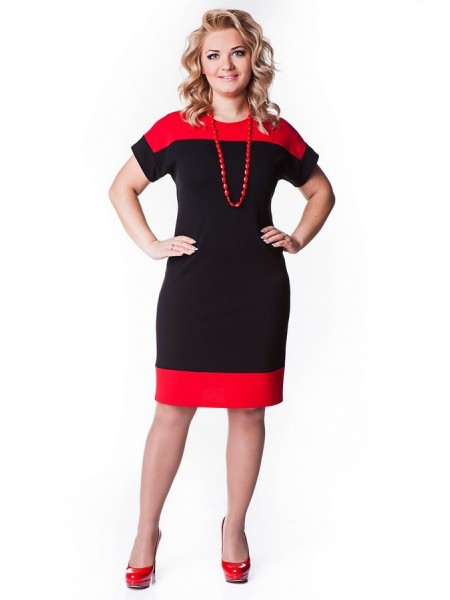 Платье Моника (красный)