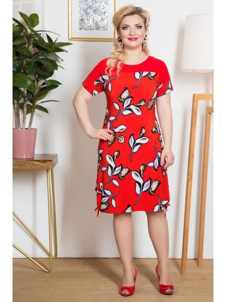 Платье Муза (красный)