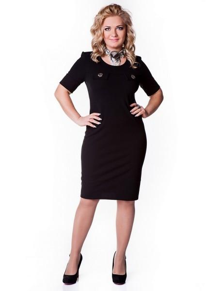 Платье Николь (черный)