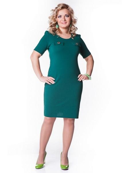 Платье Николь (зеленый)