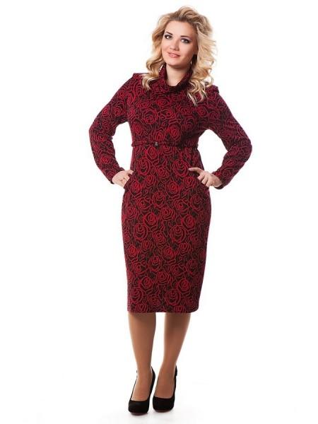 Платье Памела (красный)