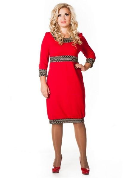 Платье Принцесса (красный)