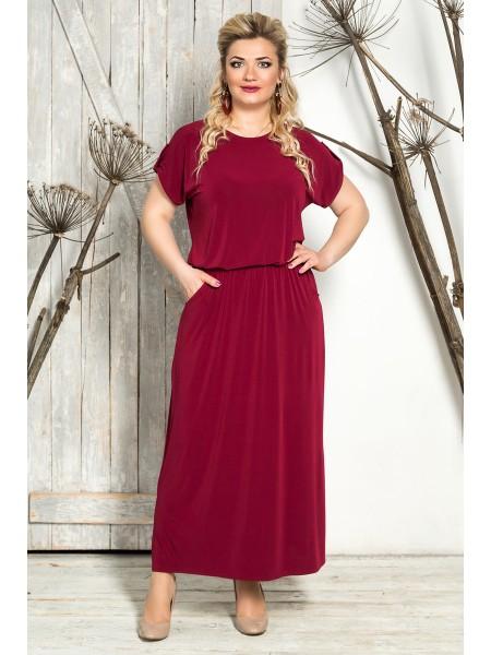 Платье Прованс (бордо)