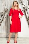 Платье Валентина (красный)