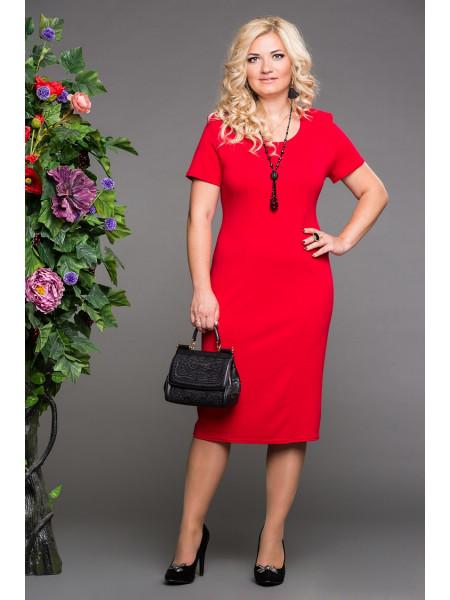 Платье Венера (красный)