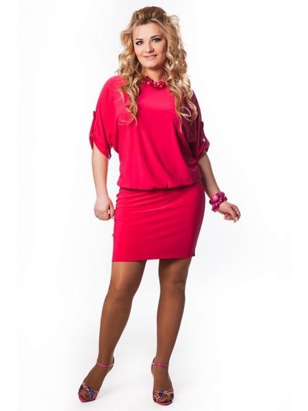 Платье Виктория (розовый)