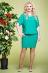 Платье Виктория (зеленый)
