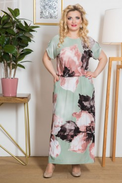 Платье Вивиан (ментол)