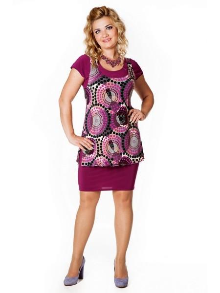Платье Земфира (сирень)