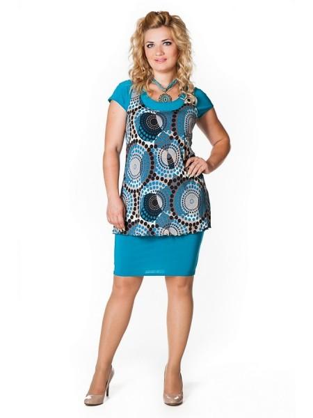 Платье Земфира (голубой)