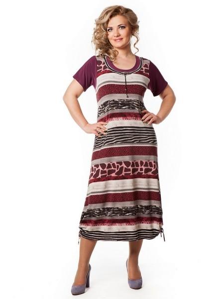 Платье Симона (сирень)
