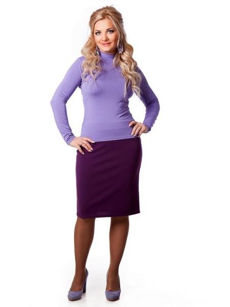 Юбка Короткая (фиолетовый)