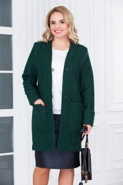 Полупальто Дженни (зеленый)
