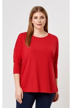 Блузка 41101 (красный)