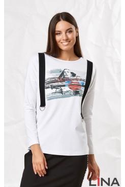 Блузка 41117 (белый)